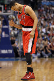 Portland Trail Blazers v Dallas Mavericks: Brandon Roy Photographic Print by Ronald Martinez