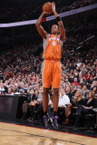Phoenix Suns v Portland Trail Blazers: Channing Frye Photographic Print by Sam Forencich