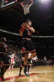 Chicago Bulls v Toronto Raptors: Joakim Noah Photographic Print by Ron Turenne