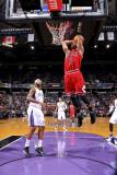 Chicago Bulls v Sacramento Kings: Derrick Rose Fotografisk trykk av Rocky Widner