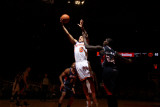 Atlanta Hawks v New York Knicks: Marvin Williams and Landry Fields Photographic Print by Nathaniel S. Butler