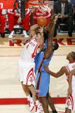 Oklahoma City Thunder v Houston Rockets: Luis Scola Photographic Print by Bill Baptist