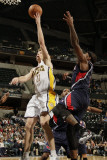 Atlanta Hawks v Indiana Pacers: Mike Dunleavy Photographic Print by Ron Hoskins