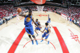Golden State Warriors v Houston Rockets: Dorell Wright Photographic Print by Bill Baptist