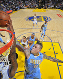 Denver Nuggets v Golden State Warriors: Chris Anderson Fotografisk trykk av Rocky Widner