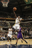 Los Angeles Lakers v Indiana Pacers: Darren Collison Photographic Print by Ron Hoskins