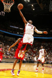 Philadelphia 76ers v Miami Heat: Dwyane Wade Photographic Print by Issac Baldizon