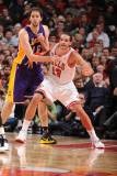 Los Angeles Lakers v Chicago Bulls: Joakim Noah and Pau Gasol Photographic Print by Andrew Bernstein