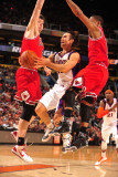 Chicago Bulls v Phoenix Suns: Steve Nash Photographic Print by Barry Gossage