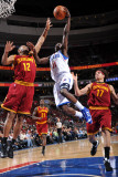 Cleveland Cavaliers v Philadelphia 76ers: Jrue Holiday and Joey Graham Photographic Print by Jesse D. Garrabrant
