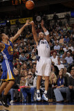 Golden State Warriors v Dallas Mavericks: Jason Kidd and Stephen Curry Photographic Print by Danny Bollinger