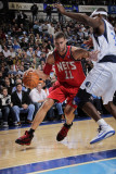 New Jersey Nets v Dallas Mavericks: Brook Lopez and Brendan Haywood Photographic Print by Glenn James