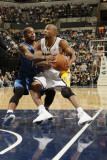 Orlando Magic v Indiana Pacers: Jameer Nelson and A. J. Price Photographic Print by Ron Hoskins
