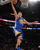 Golden State Warriors v Los Angeles Lakers: Jeremy Lin Impresso fotogrfica por Noah Graham