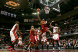 Miami Heat v Cleveland Cavaliers: Jawad Williams and Erick Dampier Photographic Print by David Liam Kyle