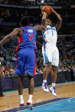 Detroit Pistons v New Orleans Hornets: Jarrett Jack and Ben Gordon Photographic Print by Layne Murdoch