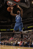 Minnesota Timberwolves v Dallas Mavericks: Wesley Johnson Photographic Print by Danny Bollinger
