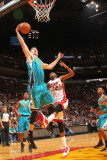 New Orleans Hornets v Miami Heat: Jason Smith Photographic Print by Victor Baldizon