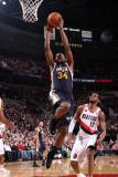 Utah Jazz v Portland Trail Blazers: C.J. Miles Photographic Print by Sam Forencich