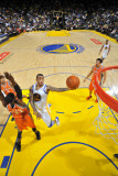 Phoenix Suns v Golden State Warriors: Monta Ellis and Hakim Warrick Photographic Print by Rocky Widner