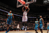 New Orleans Hornets v Los Angeles Clippers: DeAndre Jordan Photographic Print by Noah Graham