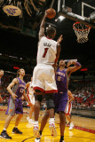 Phoenix Suns v Miami Heat: Chris Bosh Photographic Print by Issac Baldizon