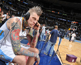 Milwaukee Bucks v Denver Nuggets: Chris Andersen Photo by Garrett Ellwood