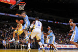 Denver Nuggets v Golden State Warriors: Stephen Curry Photographic Print by Rocky Widner