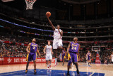 Los Angeles Lakers v Los Angeles Clippers: Al-Farouq Aminu Photographic Print by Noah Graham