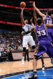 Phoenix Suns v Orlando Magic: Vince Carter and Hedo Turkoglu Photographic Print by Andrew Bernstein