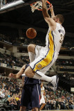 Atlanta Hawks v Indiana Pacers: Josh McRoberts Photographic Print by Ron Hoskins