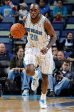 San Antonio Spurs v New Orleans Hornets: Quincy Pondexter Photographic Print by Layne Murdoch