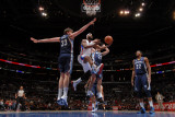 Memphis Grizzlies v Los Angeles Clippers: Baron Davis, Marc Gasol, Greivis Vasquez and Rudy Gay Photographic Print by Noah Graham