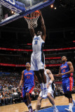 Detroit Pistons v Orlando Magic: Brandon Bass Photographic Print by Fernando Medina