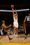 San Antonio Spurs v Golden State Warriors: Stephen Curry Photographic Print by Jed Jacobsohn