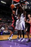 Miami Heat v Sacramento Kings: Chris Bosh Photographic Print by Rocky Widner