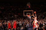 Toronto Raptors v New York Knicks: Raymond Felton Photographic Print by Ray Amati