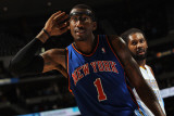New York Knicks v Denver Nuggets: Amar'e Stoudemire Photographic Print by Doug Pensinger