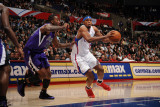 Sacramento Kings v Los Angeles Clippers: Ryan Gomes and Donte Greene Photographic Print by Noah Graham