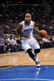 Detroit Pistons v Orlando Magic: Jameer Nelson Photographic Print by Fernando Medina