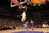 Golden State Warriors v Los Angeles Lakers: Lamar Odom Photographic Print by Noah Graham