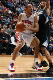 Detroit Pistons v Minnesota Timberwolves: Tayshaun Prince and Michael Beasley Photographic Print by David Sherman