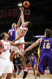 Los Angeles Lakers v Houston Rockets: Matt Barnes and Kevin Martin Photographic Print by Bill Baptist
