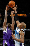 Sacramento Kings v New Orleans Hornets: Tyreke Evans and David West Photographic Print by Chris Graythen