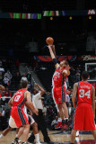 New Jersey Nets v Atlanta Hawks: Brook Lopez Photographic Print by Scott Cunningham