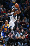 Golden State Warriors v Minnesota Timberwolves: Corey Brewer Photographic Print by David Sherman