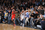 Chicago Bulls v Denver Nuggets: Carmelo Anthony Photographic Print by Garrett Ellwood