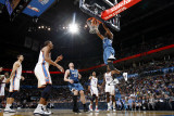 Minnesota Timberwolves v Oklahoma City Thunder: Wesley Johnson Photographic Print by Layne Murdoch