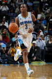 San Antonio Spurs v New Orleans Hornets: Chris Paul Fotografisk tryk af Layne Murdoch
