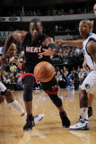 Miami Heat v Dallas Mavericks: Dwyane Wade, Caron Butler and Shawn Marion Photographic Print by Glenn James